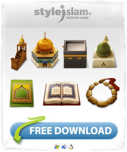 ايقونات اسلامية ثلاثية اللأبعاد Desktopicons_grafic