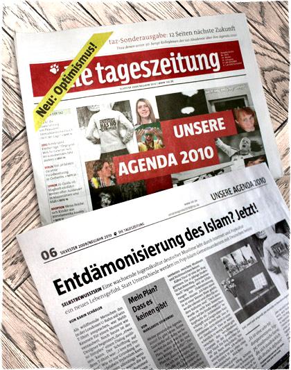 TAZ Tageszeitung Agenda 2010