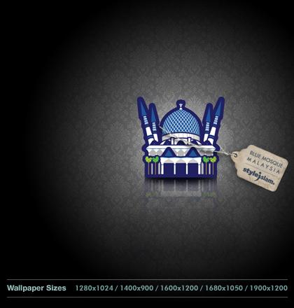BlueMosque_WallpaperPack_Grafik